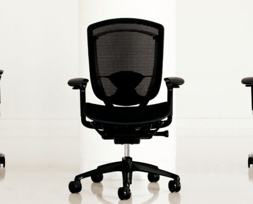 Contessa Task Chair Group Front And Back View