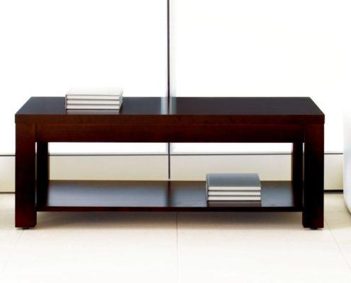Expansion Wood Magazine Table