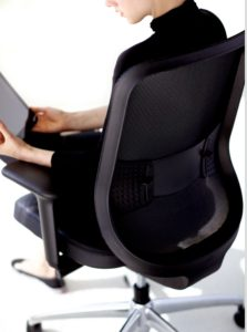 Low Projek Task Chair Ebony Mesh Ebony Frame