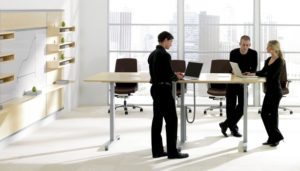 Meeting Table Standing Model