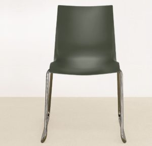 Nami Stacking Chair Lunar Grey