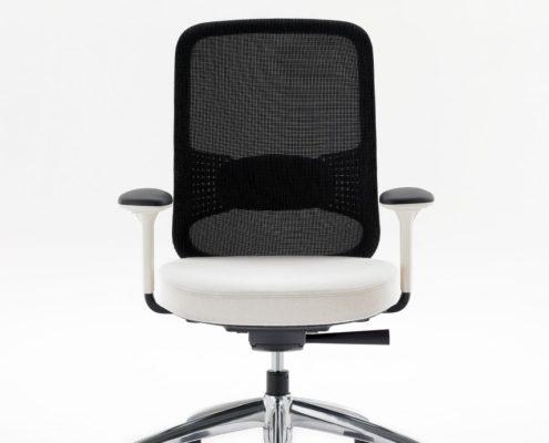 Projek Task Chair Ebony Mesh Stone