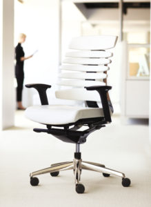 RBT Task Chair Polished Aluminum Base