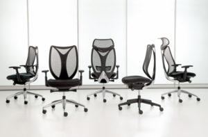 Sabrina Task Chair Iron Mesh Ebony Frame